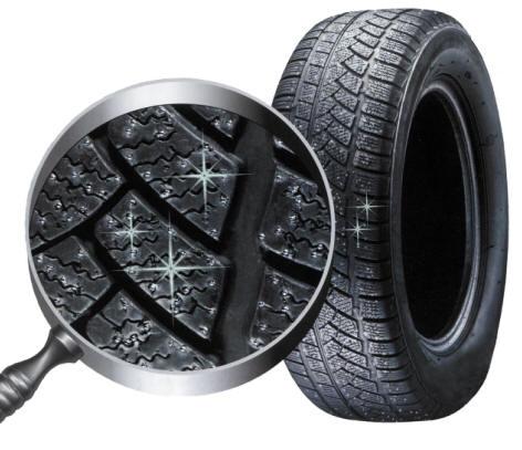 pneu vraník dezén